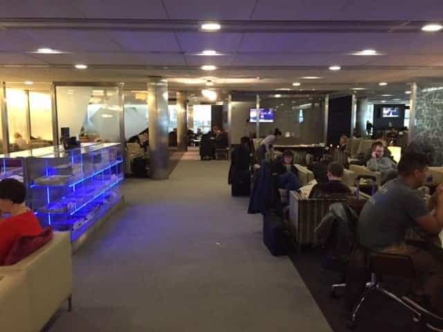 Heathrow T5 Lounge