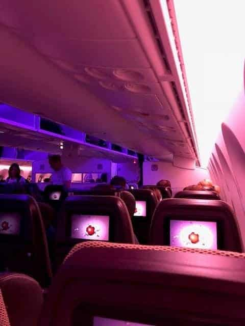 Virgin Atlantic Economy Seats