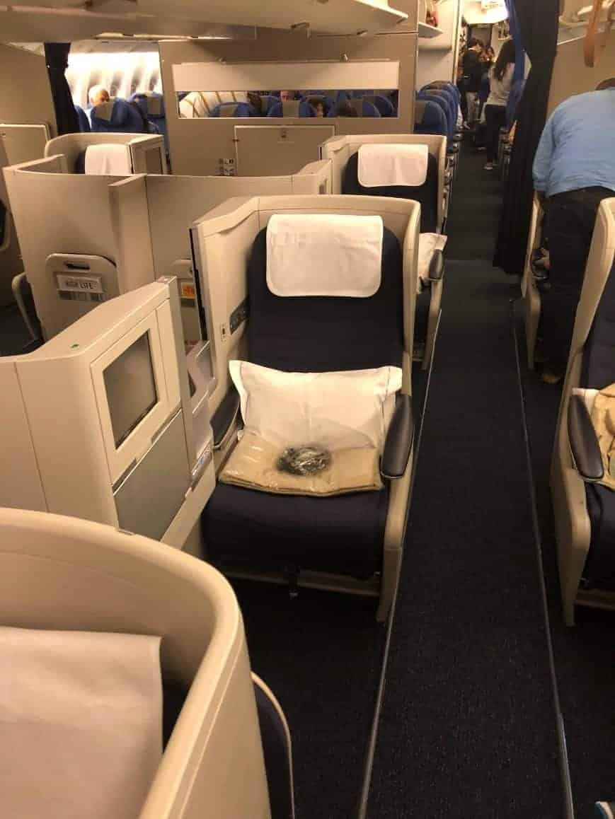 BA Business Class Seats
