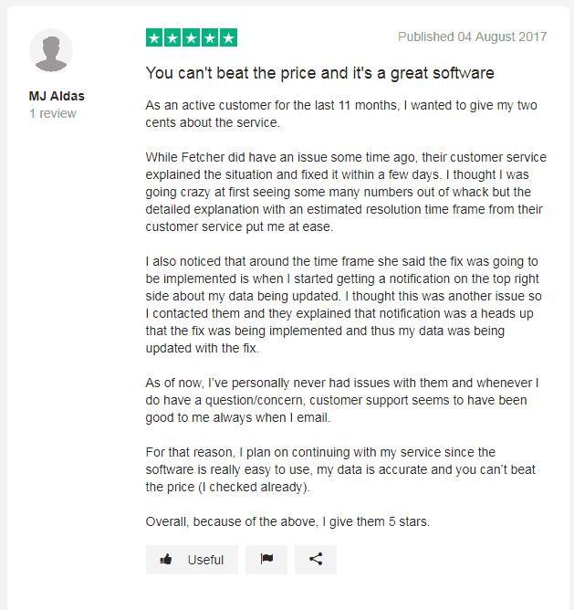 Fetcher Reviews