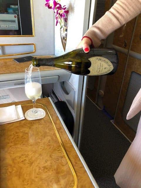 Emirates First Class Experience