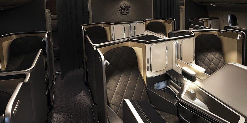 BA First Class Review 777
