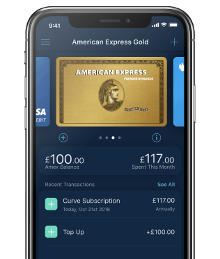 Curve Card American Express