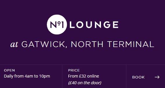 Gatwick no1 lounge