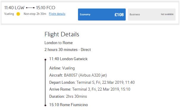 Vueling Avios
