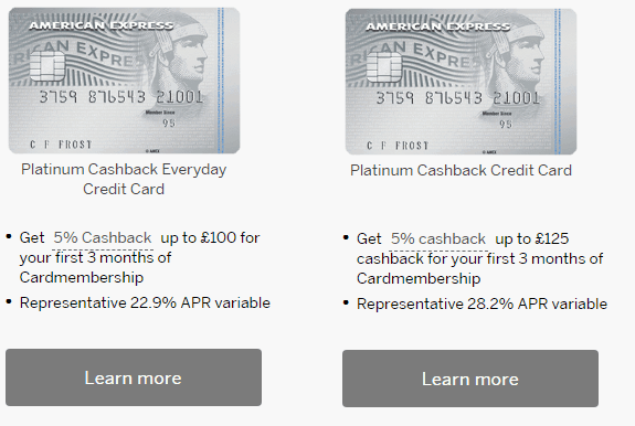Best Amex Card UK – Not all American Express Cards are made