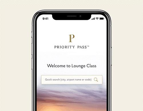 Priority Pass Lounge