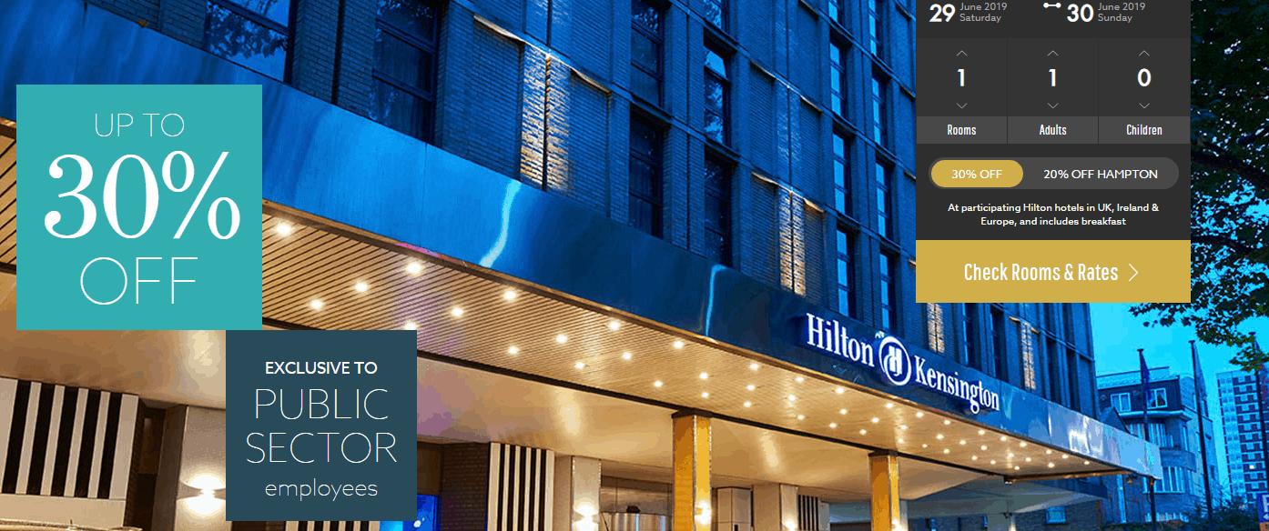 Hilton Public Sector Discount