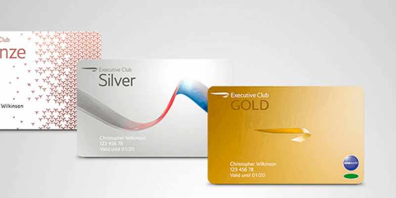 British Airways Gold Card