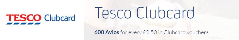 Tesco Clubcard Avios