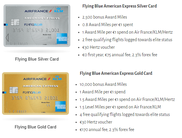 Flying Blue Card