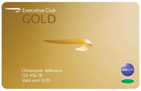 BA Executive Club Gold