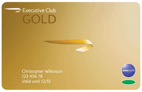 BA Executive Club Gold