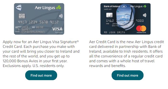 Aer Lingus Mastercard