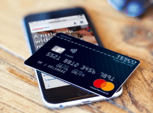 Tesco's credit card