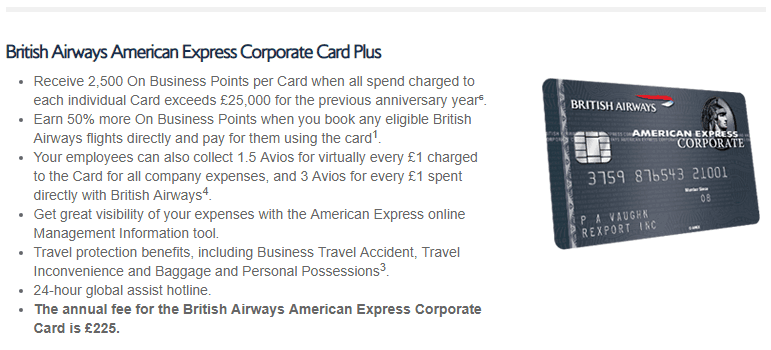 British Airways on Business Programme