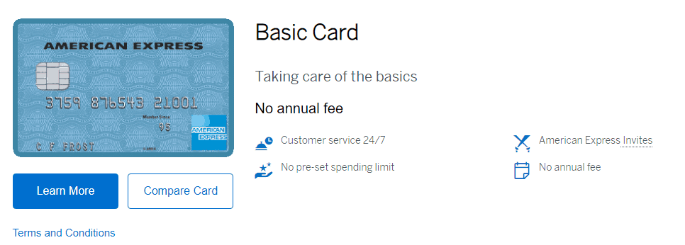 American Express Basic Card Review