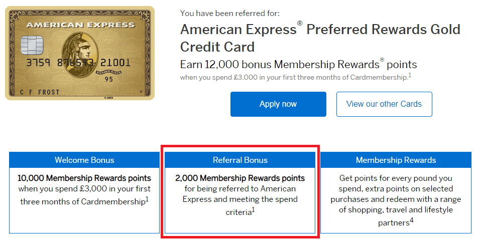 American Express Sign Up Bonus