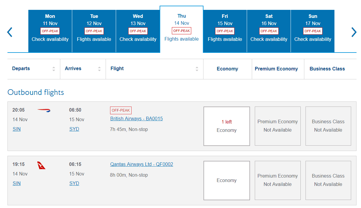 Qantas Credit Cards