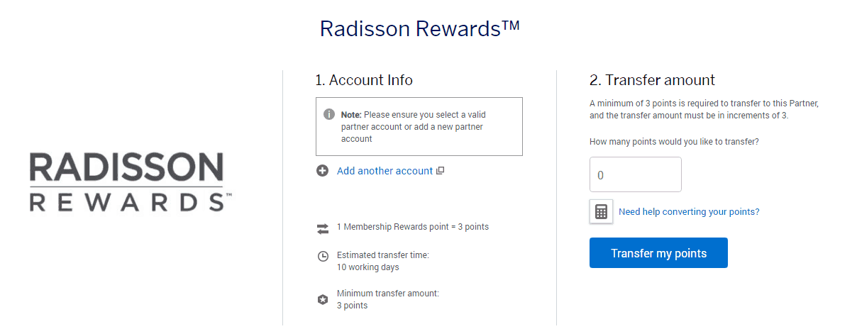 Radisson Rewards Credit Card Review