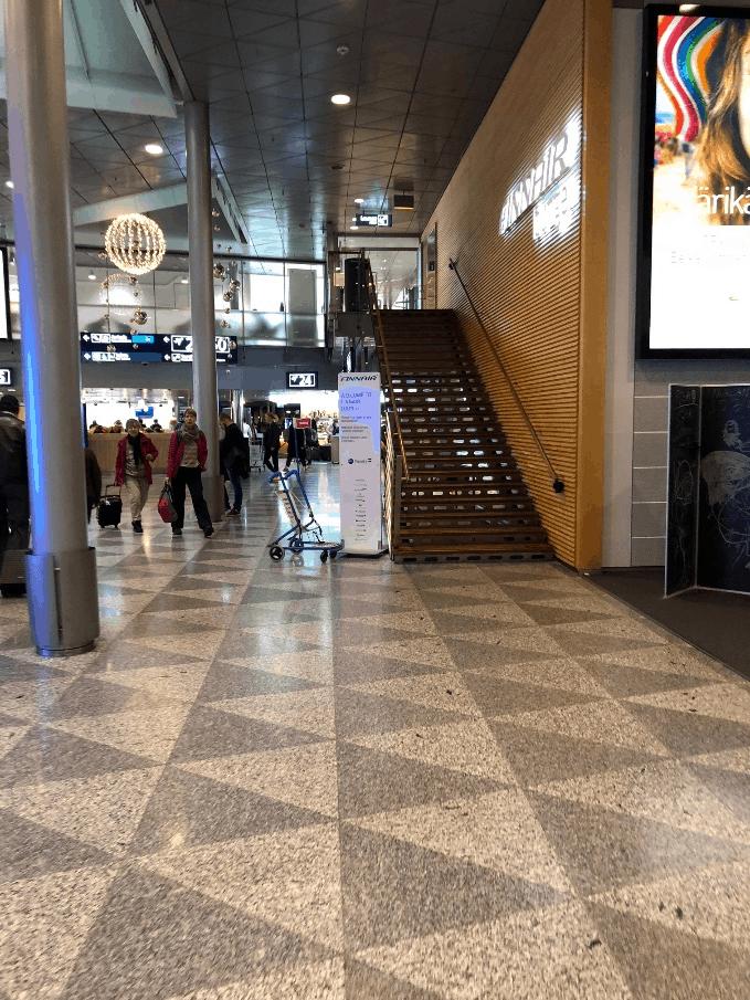 BA Lounge Helsinki