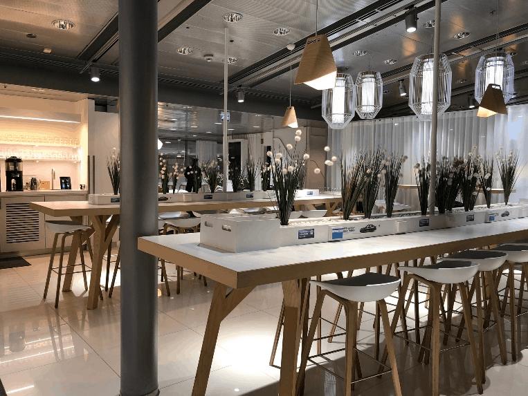 Finnair Lounge Helsinki Review