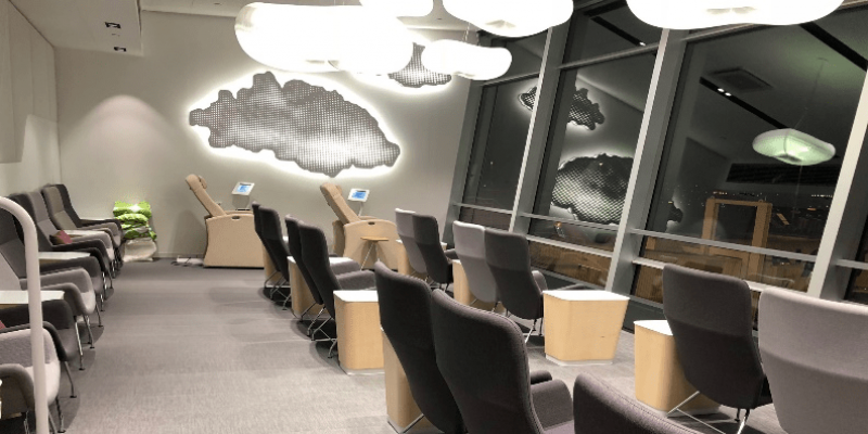 Helsinki Airport Business Lounge