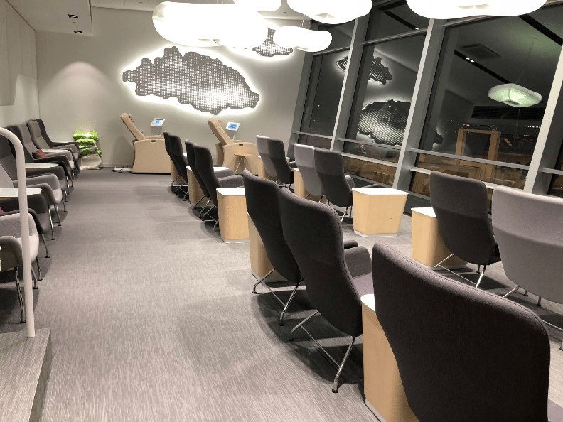 Helsinki Airport Business Lounge