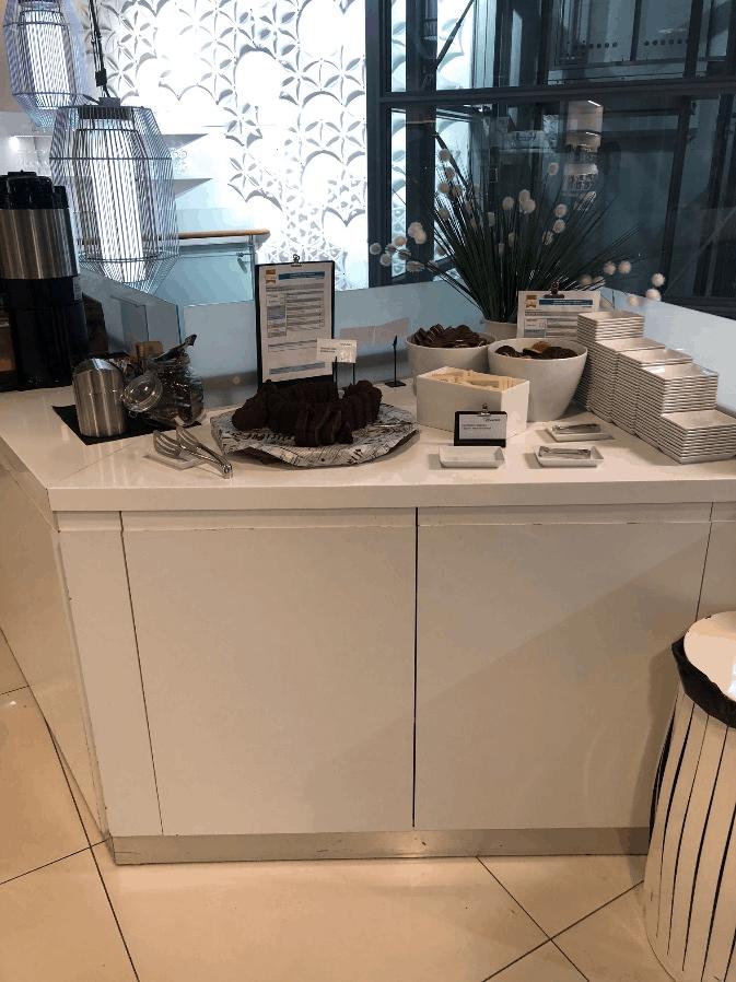 British Airways Lounge Helsinki