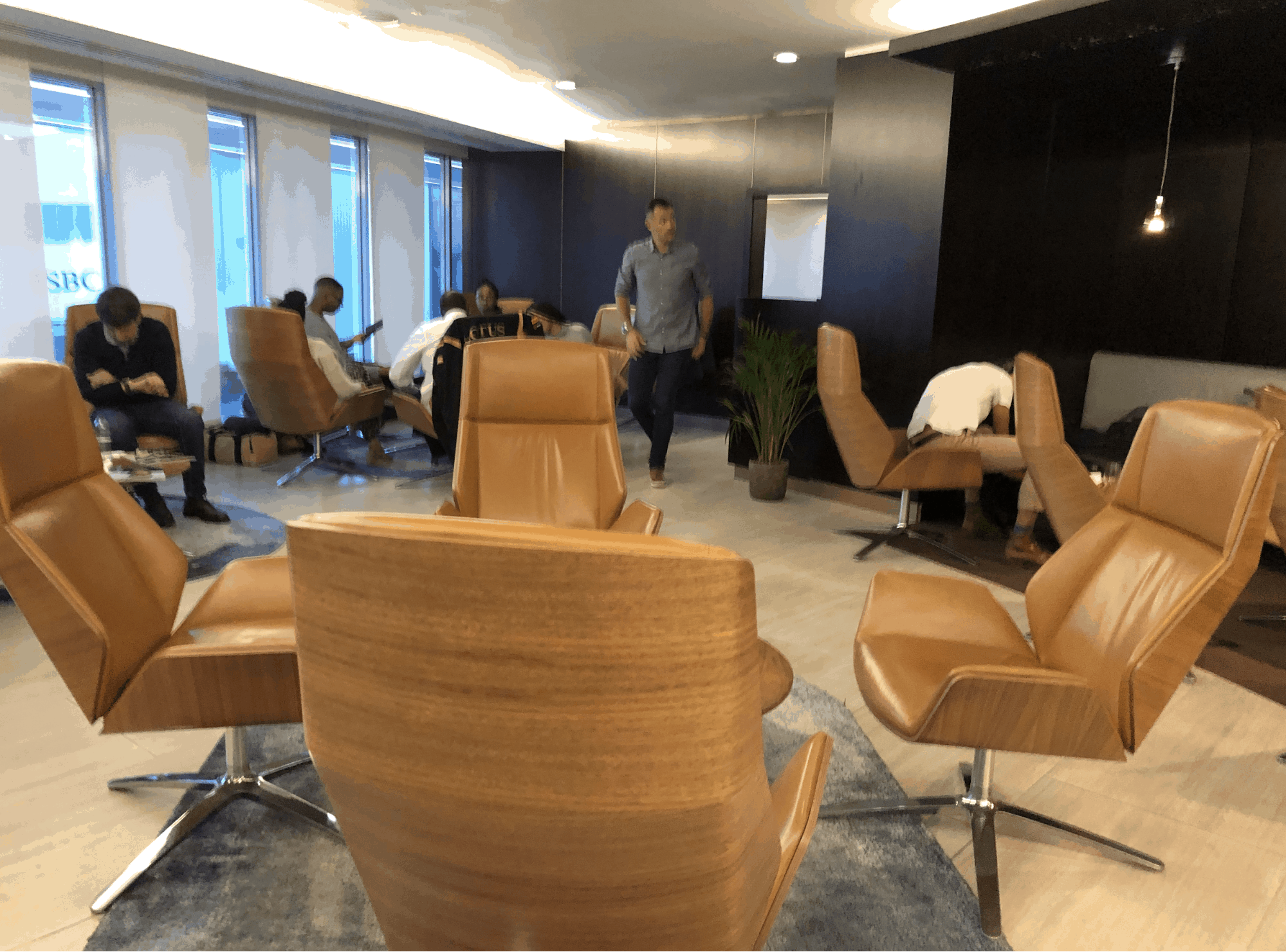 Etihad Lounge Heathrow