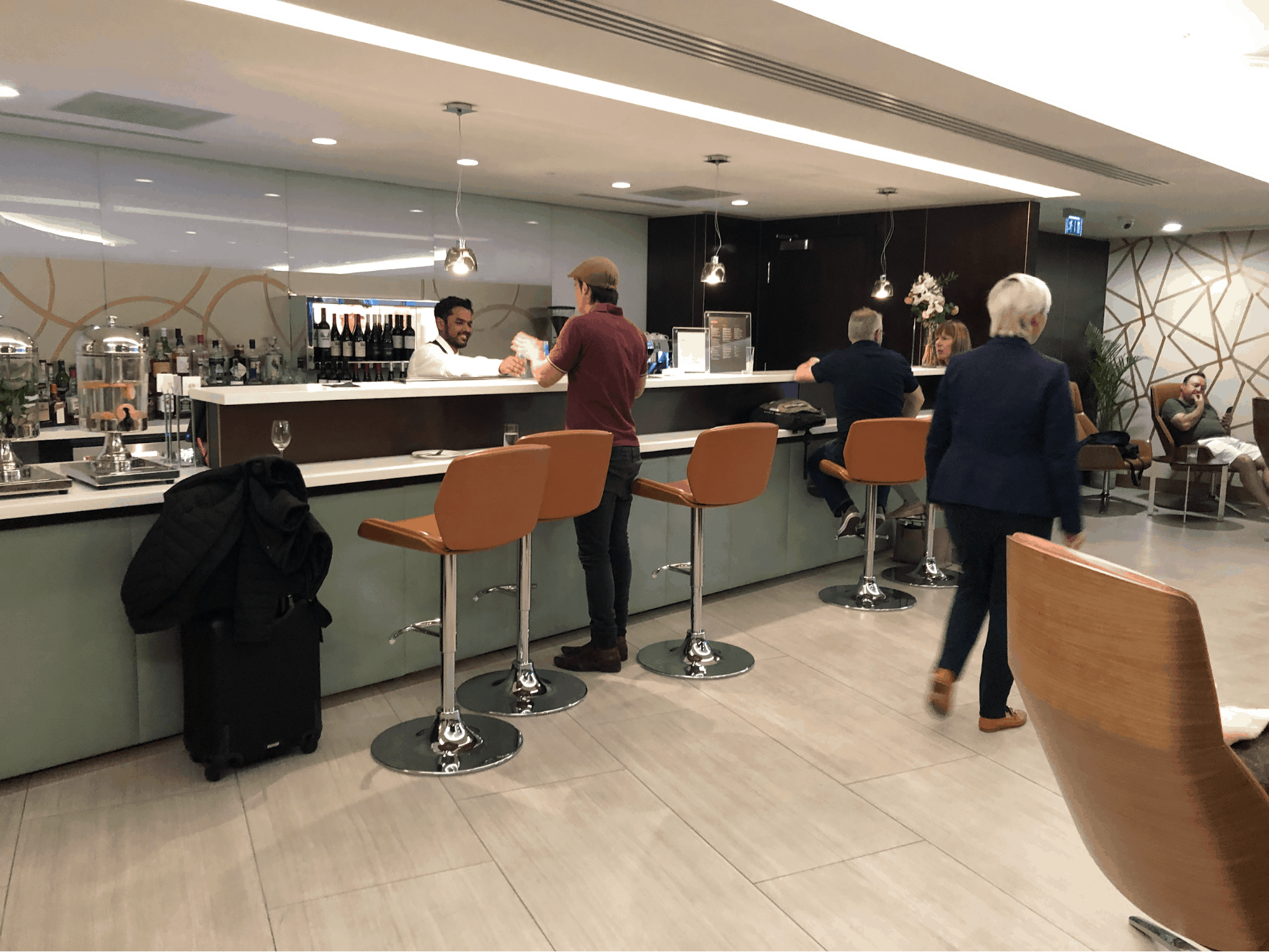 Etihad Business Class Lounge Heathrow